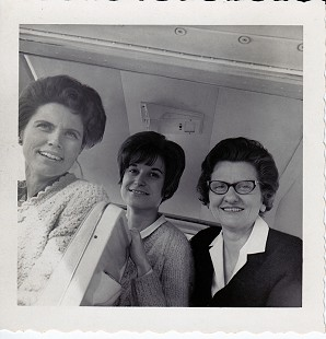 Dorothy Stuck (right) with Susie Lambert and Eloise Hampton of the <i>Marked Tree Tribune</i>, 1969 © Pryor Center for Arkansas Oral and Visual History, University of Arkansas