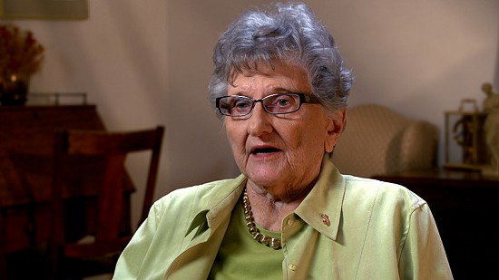 Still frame from Pryor Center video interview with Dorothy Stuck; Little Rock, Arkansas, 2013 © Pryor Center for Arkansas Oral and Visual History, University of Arkansas