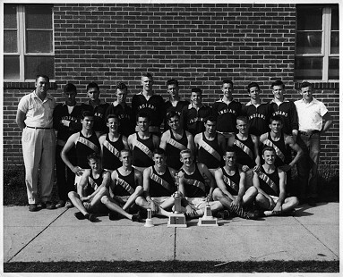 Helena Track Team, B. Alan Sugg, 2nd row, 2nd from left © Pryor Center for Arkansas Oral and Visual History, University of Arkansas
