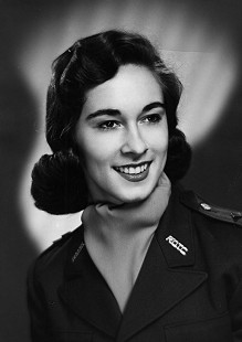Jean Bussell (Sugg), ROTC Sponsor, University of Arkansas, 1958 © Pryor Center for Arkansas Oral and Visual History, University of Arkansas