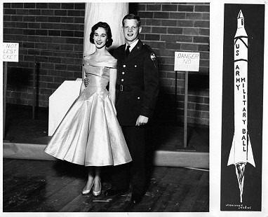 B. Alan Sugg and Jean Bussell (Sugg) at the ROTC US Army Military Ball, University of Arkansas © Pryor Center for Arkansas Oral and Visual History, University of Arkansas
