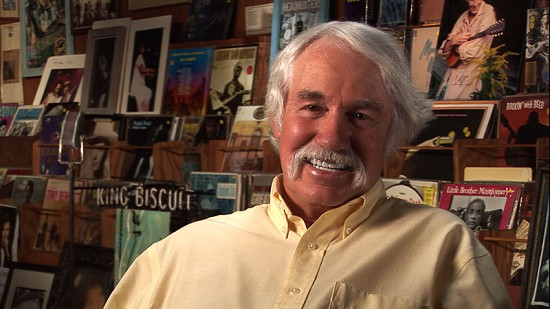 Still frame from Pryor Center video interview with Bubba Sullivan at Bubba's Blues Corner; Helena-West Helena, Arkansas, 2012 © Pryor Center for Arkansas Oral and Visual History, University of Arkansas