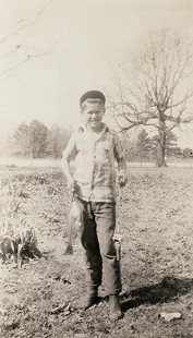Leland Tollett as a child © Pryor Center for Arkansas Oral and Visual History, University of Arkansas