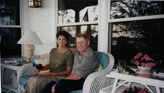 Leland and Betty Tollett, August 1996 © Pryor Center for Arkansas Oral and Visual History, University of Arkansas