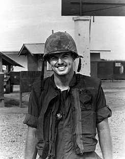 Jim Guy Tucker, Vietnam, 1965 © Pryor Center for Arkansas Oral and Visual History, University of Arkansas