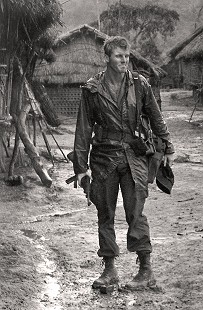 Jim Guy Tucker near Pleiku, Vietnam, 1965 © Pryor Center for Arkansas Oral and Visual History, University of Arkansas