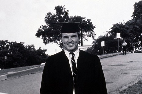 Jim Guy Tucker at graduation, University of Arkansas Law School, 1968 © Pryor Center for Arkansas Oral and Visual History, University of Arkansas
