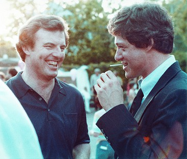 Jim Guy Tucker with Bill Clinton, 1979 © Pryor Center for Arkansas Oral and Visual History, University of Arkansas