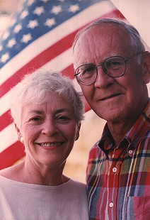 Betty Jo and Harry Ward, Fourth of July, 1996 © Pryor Center for Arkansas Oral and Visual History, University of Arkansas