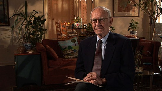 Still frame from Pryor Center video interview with Harry Ward; Little Rock, Arkansas, 2008  © Pryor Center for Arkansas Oral and Visual History, University of Arkansas