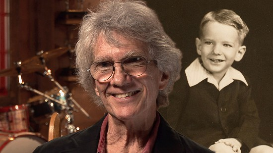 Composite image of early photo of John Ware and still frame from Pryor Center video interview © Pryor Center for Arkansas Oral and Visual History, University of Arkansas