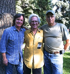 Jeff Hanna, John Ware, and Jimmie Fadden; Boulder, Colorado, 2013 © Pryor Center for Arkansas Oral and Visual History, University of Arkansas
