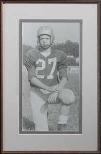 Bud Whetstone, ninth-grade football portrait, 1956 © Pryor Center for Arkansas Oral and Visual History, University of Arkansas