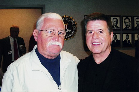 Bud Whetstone (right) with Judge Jimmy Clark © Pryor Center for Arkansas Oral and Visual History, University of Arkansas