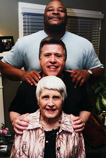 From top: Keith Jackson, Bud Whetstone, and his mother, Carolyn Whetstone © Pryor Center for Arkansas Oral and Visual History, University of Arkansas
