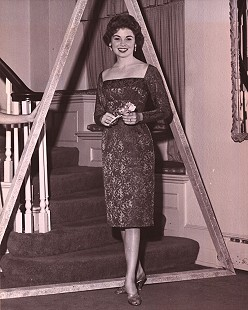 Donna Axum (Whitworth) at Tri Delta formal pledging ceremony, University of Arkansas, 1960 © Pryor Center for Arkansas Oral and Visual History, University of Arkansas