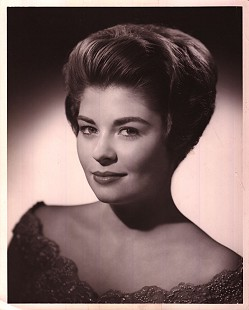 Donna Axum (Whitworth) formal portrait as Miss Arkansas in the Miss America 1964 program © Pryor Center for Arkansas Oral and Visual History, University of Arkansas