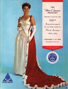 Donna Axum (Whitworth) on the cover of the Miss America 1965 program © Pryor Center for Arkansas Oral and Visual History, University of Arkansas