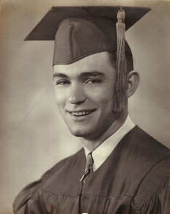 High school graduation photo of Al Witte © Pryor Center for Arkansas Oral and Visual History, University of Arkansas