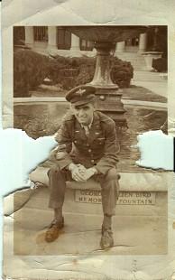Al Witte in his Air Force Uniform © Pryor Center for Arkansas Oral and Visual History, University of Arkansas