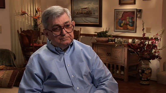 Still frame from Pryor Center video interview with Al Witte; Fayetteville, Arkansas, 2008 © Pryor Center for Arkansas Oral and Visual History, University of Arkansas