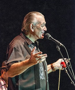 Charlie Musselwhite onstage at the Arkansas Blues and Heritage Festival; 2010 © Eric Gorder 2010; egorder@gmail.com