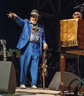 Dr. John performs at the Arkansas Blues and Heritage Festival; 2010 © Eric Gorder 2010; egorder@gmail.com