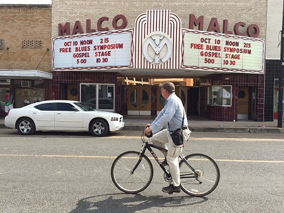 Historic Malco Theater on Cherry Street; Helena, Arkansas, 2015 © Pryor Center for Arkansas Oral and Visual History, University of Arkansas