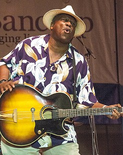 Taj Mahal performs at the Arkansas Blues and Heritage Festival; 2010 © Eric Gorder 2010; egorder@gmail.com