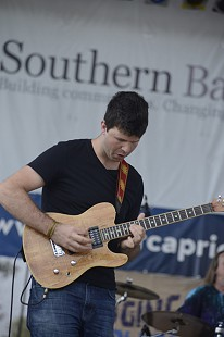 Matt Stone performs at the King Biscuit Blues Festival; 2015 © Eric Gorder 2015; egorder@gmail.com