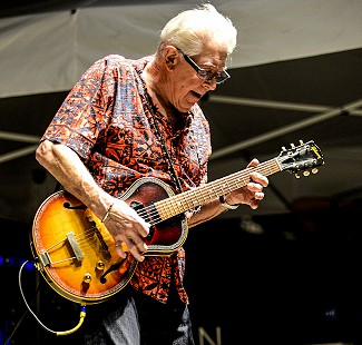 John Mayall performs at the King Biscuit Blues Festival; 2016 © Eric Gorder 2017; egorder@gmail.com