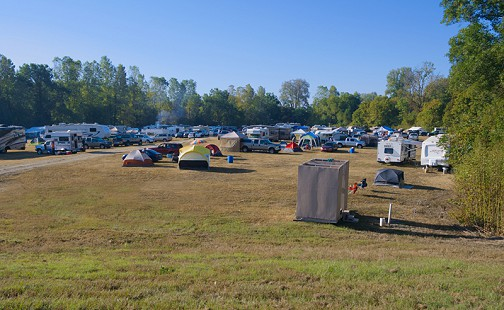 King Biscuit Blues Festival's tent city; Helena, Arkansas, 2016 © Pryor Center for Arkansas Oral and Visual History, University of Arkansas