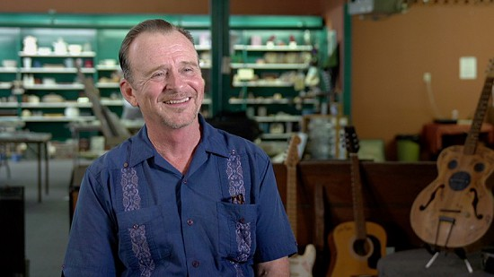 Still frame from Pryor Center video interview with Mike Cherry at Bubba's Blues Corner; Helena, Arkansas, 2017 © Pryor Center for Arkansas Oral and Visual History, University of Arkansas